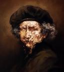 7.-Rembrandt-Selfportrait-45x45cm.-oil-on-canvas-2019
